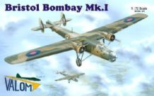 Valom 1/72 Model Kit 72056 Bristol Bombay Mk.I